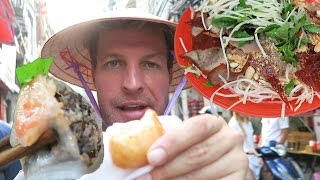 THE MOST AMAZING VIETNAMESE FOOD TOUR IN HANOI - VIETNAM