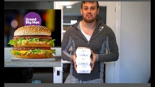 THE GRAND BIG MAC CHALLENGE! Trying to beat last years big mac time