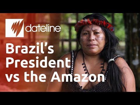 Jair Bolsonaro takes on the Indigenous Munduruku of the Amazon