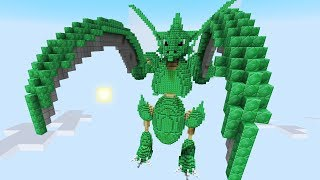 Minecraft vs Pokemon Go  | GIGA SCYTHER!! | (PvZ/Pokego Land)