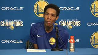 Patrick McCaw Postgame Interview / GS Warriors vs Kings / Nov 27