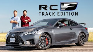 2021 Lexus RC F Track Edition Review // The Wrong Way To Spend $100,000