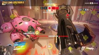 Overwatch Macth Players de Carton Vs White Bear