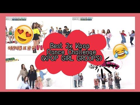 Best 2x Speed Kpop Dance Challenge @ Weekly Idol (KPOP Girl Groups)| TWICE,I.O.I,GFRIEND,more | Kpop