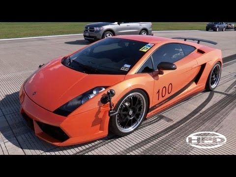 Houston Mile - SW's 204mph Lamborghini