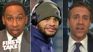 First Take reacts to police investigating a potential party thrown at Dak Prescott's house