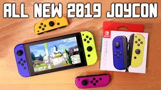 ALL NEW JOY CON COLORS 2019! JoyCon Unboxing + Blue, Neon Purple, Neon Orange, Neon Yellow!