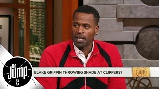 Stephen Jackson to Blake Griffin on Clippers' comments: Get out your feelings   The Jump   ESPN