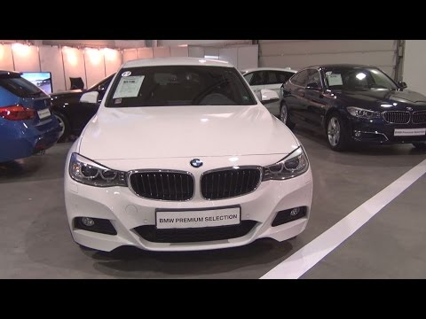 BMW 320d xDrive Gran Turismo (2016) Exterior and Interior in 3D