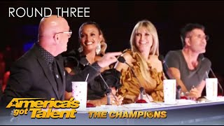 @America's Got Talent Champions Week 3 Intro: Simon Threatens To Steal The Golden Buzzer AGAIN!