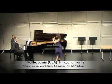 Rottle, Jamie (USA) 1st Round. Part 2