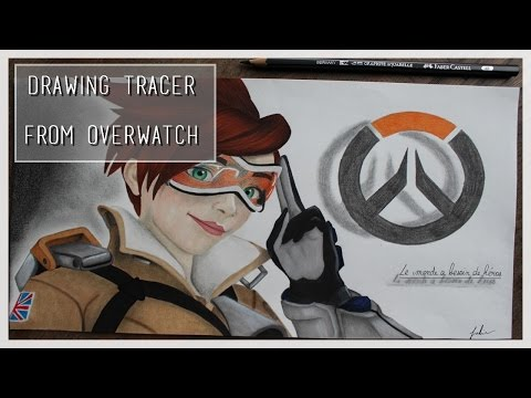 Drawing Tracer from Overwatch | Blizzard entertainment - YouTube