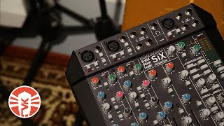 SSL SiX Desktop Mixer | Recording And Mixing A Singer/Songwriter | Vintage King