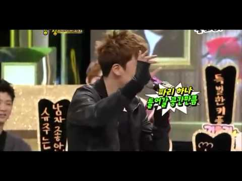 Seungri Imitating the Big-Bang members