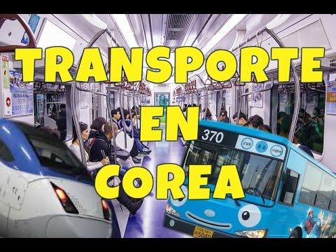 ¿Cómo es el transporte en Corea? ♥ #DTEC