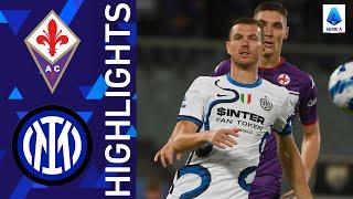 Fiorentina 1-3 Inter | Inter beat La Viola to go top of the log | Serie A 2021/22