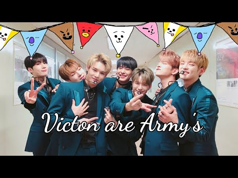 VICTON ARE ARMYS  [ BTS biggest idol fans]