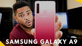 Video Samsung galaxy A9 2018 128 GB Rosa IFfF6x6RTWY