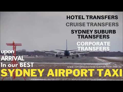 Sydney airport taxi maxi service