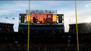 Brett Favre Hall of Fame Ring Ceremony
