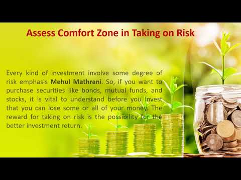 Mehul Mathrani - What Things You Should Consider Before Investing