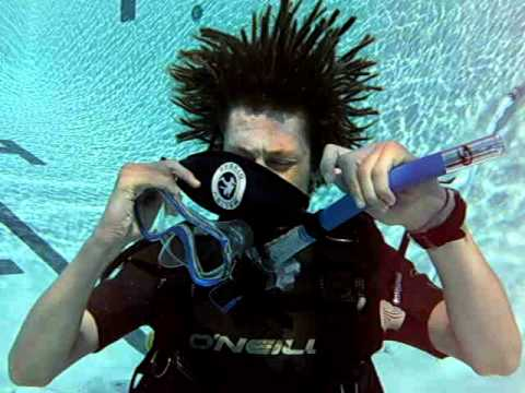 Open Water - Confined Pool Session - Complete Flood & Clear your Mask