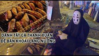Người Sài Gòn hết hồn với con ma bán khoai lang nướng