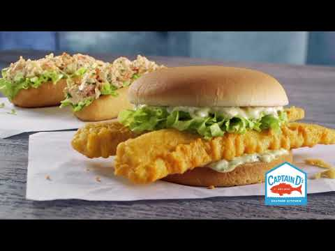 New Seafood Sandwiches at Captain D's