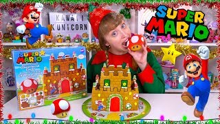 SUPER MARIO GINGERBREAD CASTLE Candy Gingerbread Christmas Cookie House