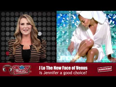 Jennifer Lopez New Legs Of Gillette Venus Razors