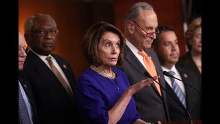 WATCH: Pelosi, Schumer to respond to Trump's comments about ongoing investigations