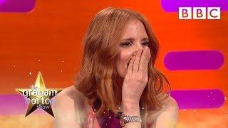 Jessica Chastain and Stephen Mangan talk dogging - The Graham Norton Show: Series 19 Episode 2 - BBC