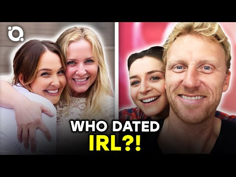 The Real-Life Partners Of Grey's Anatomy Cast Revealed | ⭐OSSA