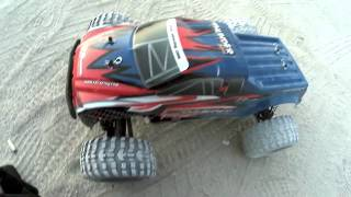 ZD Racing Thunder ZMT-10 Monster Truck on 3 cell lipo battery Run