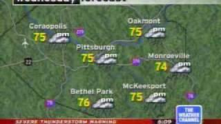 Intellistar Local Forecast - Jun 14th 2005 @ 6:08 pm et