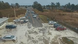 Storm Surge - High Tide - Ocean Park, Wa Beach Approach