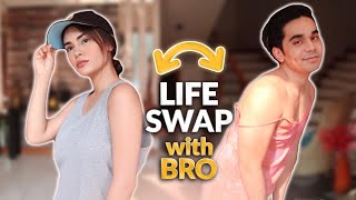 LIFE SWAP WITH BROTHER! | IVANA ALAWI