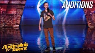 Gavin Sempel Brings The Laughs   Auditions   Australia's Got Talent 2019