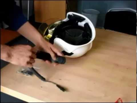 HC1 in Gallet F1S helmet installation part 1