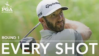 Dustin Johnson: Every shot from first-round 69 at 2019 PGA Championship