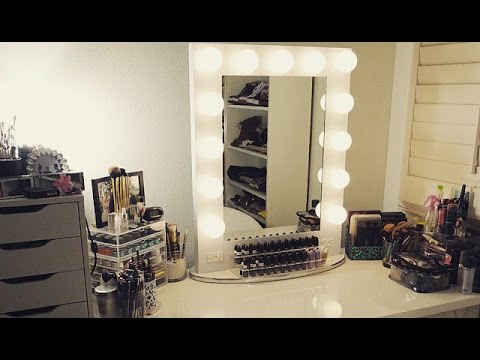 All About Broadway Lighted Vanity Mirror Vanity Girl Hollywood