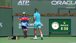 Hot Shot: Nadal Powers Past Djokovic