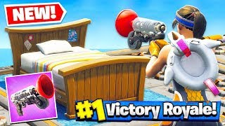 *NEW* GRAPPLER GUN BED WARS Gamemode in Fortnite Battle Royale