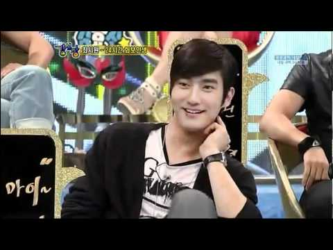 Super Junior's SiWon was imitated by other members