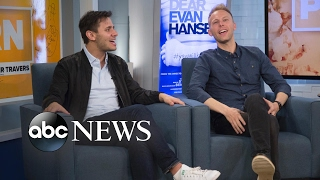 'Dear Evan Hansen' creators Benj Pasek and Justin Paul sing 'Waving Through a Window'