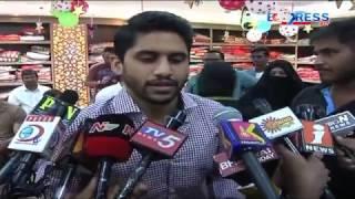 Naga Chaitanya, Sonu Sood, WWE Great Khali open mall at Ti..