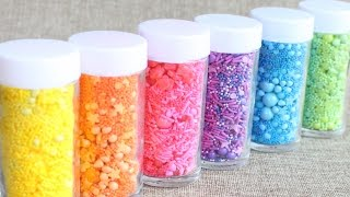 Make Your Own Custom Sprinkle Medley & Save Money For Your Next Cake or Cookie Project