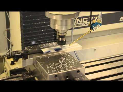 Tormach 770 - CNC mill programmed with Inventor HSM