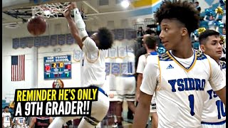 Mikey Williams EXPLODES For 43 POINTS In FIRST OFFICIAL High School Game!! He's ONLY 15!