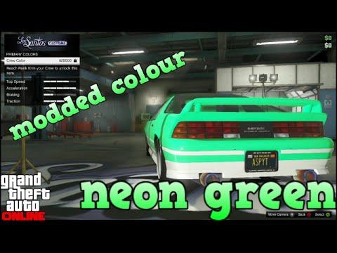 Online Crew Gta 5 Gta 5 Online Paint Job Neon
